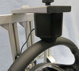 Steering Wheel Abrasion Test with Wear Analysis