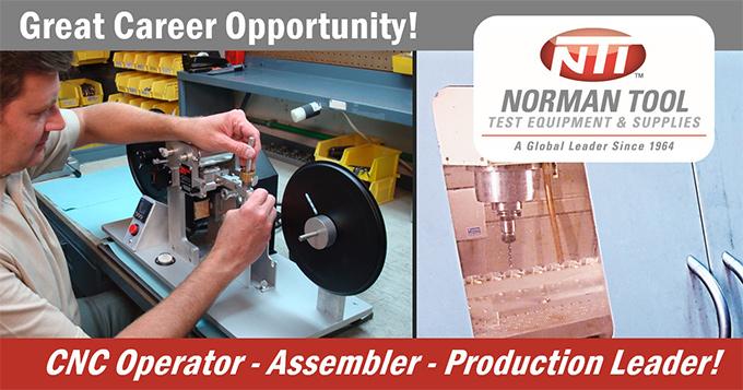 CNC Operator - Assembler - Production Leader