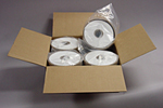 "NTI Media 11/16"" Wide Paper – 40 Rolls per case"