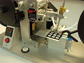 RCA Abrasion Wear Tester testing keypad