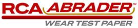 RCA Abrader™ Wear Test Paper